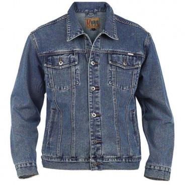 DUKE kurtka męska Western Style Trucker Denim jeansowa