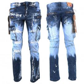 KOSMO LUPO spodnie męskie jeansy dżinsy KM135-1