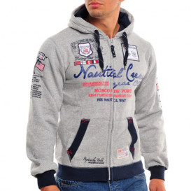 GEOGRAPHICAL NORWAY bluza męska GAUTICAL