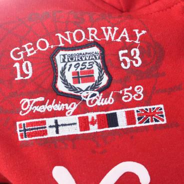 GEOGRAPHICAL NORWAY bluza męska GAUTICAL