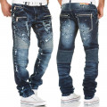 KOSMO LUPO spodnie męskie jeansy dżinsy KM141