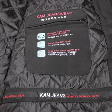 KAM kurtka męska KV59 softshell zimowa duże wymiary 2XL 3XL, 4xl, 5xl, 6xl, 7xl, 8xl