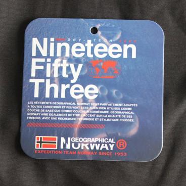 GEOGRAPHICAL NORWAY kurtka męska TECHNO softshell