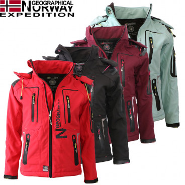 GEOGRAPHICAL NORWAY kurtka damska TEHILA LADY 005 softshell
