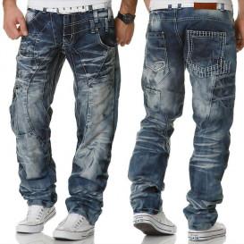 KOSMO LUPO spodnie mÄskie jeansy dżinsy KM040