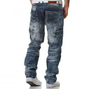 KOSMO LUPO spodnie męskie jeansy dżinsy KM040