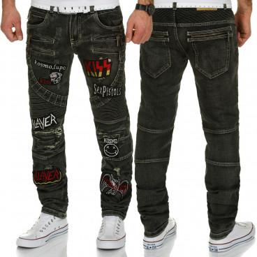 KOSMO LUPO spodnie męskie jeansy dżinsy KM183