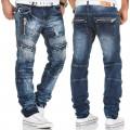 KOSMO LUPO spodnie męskie jeansy dżinsy KM136