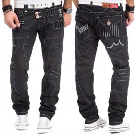KOSMO LUPO spodnie męskie jeansy dżinsy KM050-1