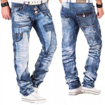 KOSMO LUPO spodnie męskie jeansy dżinsy KM050