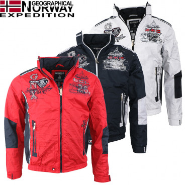 GEOGRAPHICAL NORWAY kurtka męska CHOUBAKA MEN 056