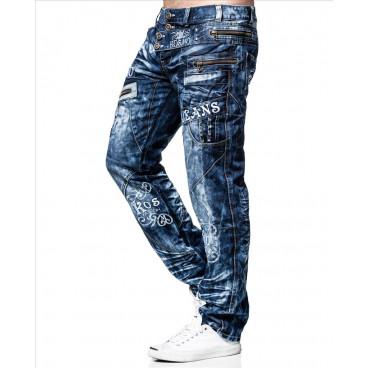 KOSMO LUPO spodnie męskie jeansy dżinsy KM051