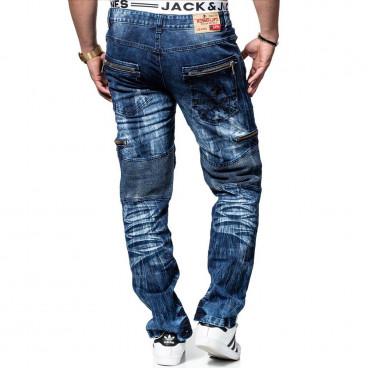 KOSMO LUPO spodnie męskie jeansy dżinsy KM131