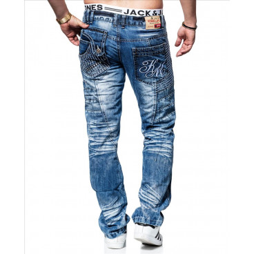 KOSMO LUPO spodnie męskie jeansy dżinsy KM020