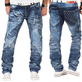 KOSMO LUPO spodnie męskie jeansy dżinsy KM130
