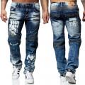 KOSMO LUPO spodnie męskie jeansy dżinsy KM164