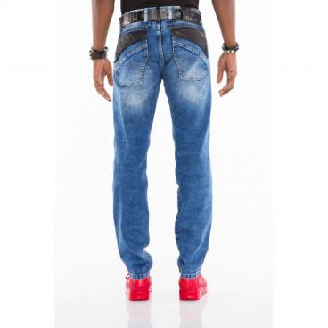 CIPO & BAXX spodnie męskie CD461 jeansy slim fit L: 34