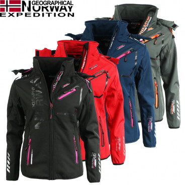 GEOGRAPHICAL NORWAY kurtka damska REINE LADY 056 softshell