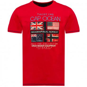GEOGRAPHICAL NORWAY T-shirt męski JINAPT SS MEN 100