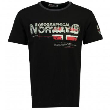 GEOGRAPHICAL NORWAY koszulka męska JISLAND SS MEN 100