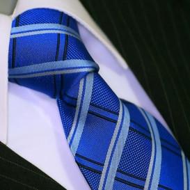 BINDER DE LUXE krawat 100% jedwab wzór 617