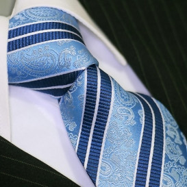BINDER DE LUXE krawat 100% jedwab wzór 681