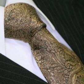 BINDER DE LUXE krawat 100% jedwab wzór 685
