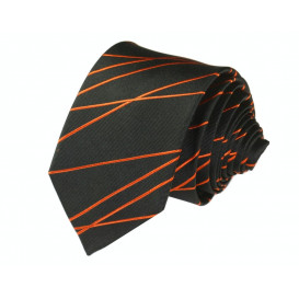 BINDER DE LUXE krawat 100% jedwab wzór 700