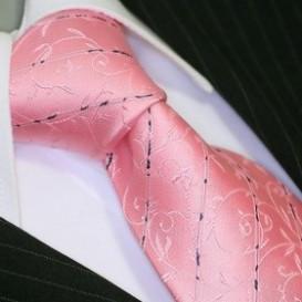 BINDER DE LUXE krawat 100% jedwab wzór 686