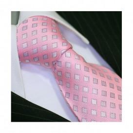 BINDER DE LUXE krawat 100% jedwab wzór 307