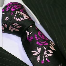BINDER DE LUXE krawat 100% jedwab wzór 520